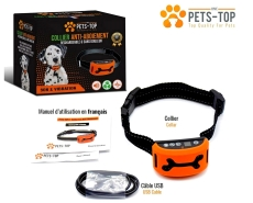 Collier anti-aboiement One PETS-TOP