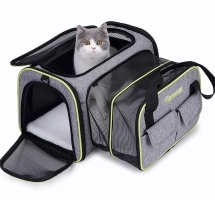 Sac chat DADYPET contenant un chat