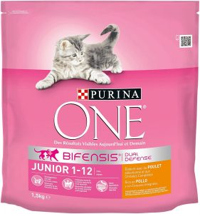 croquettes chats Purina One Junior de 1 a 12 mois